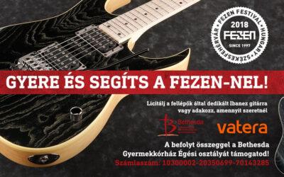 A Fehérvári Zenei Fesztivál is támogatja a Bethesdát