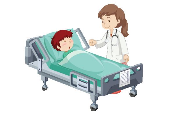 kórházi ellátás adomány