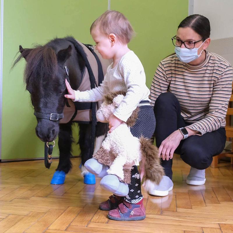 Gyermek rehabilitáció Miniló látogatói program segítségével